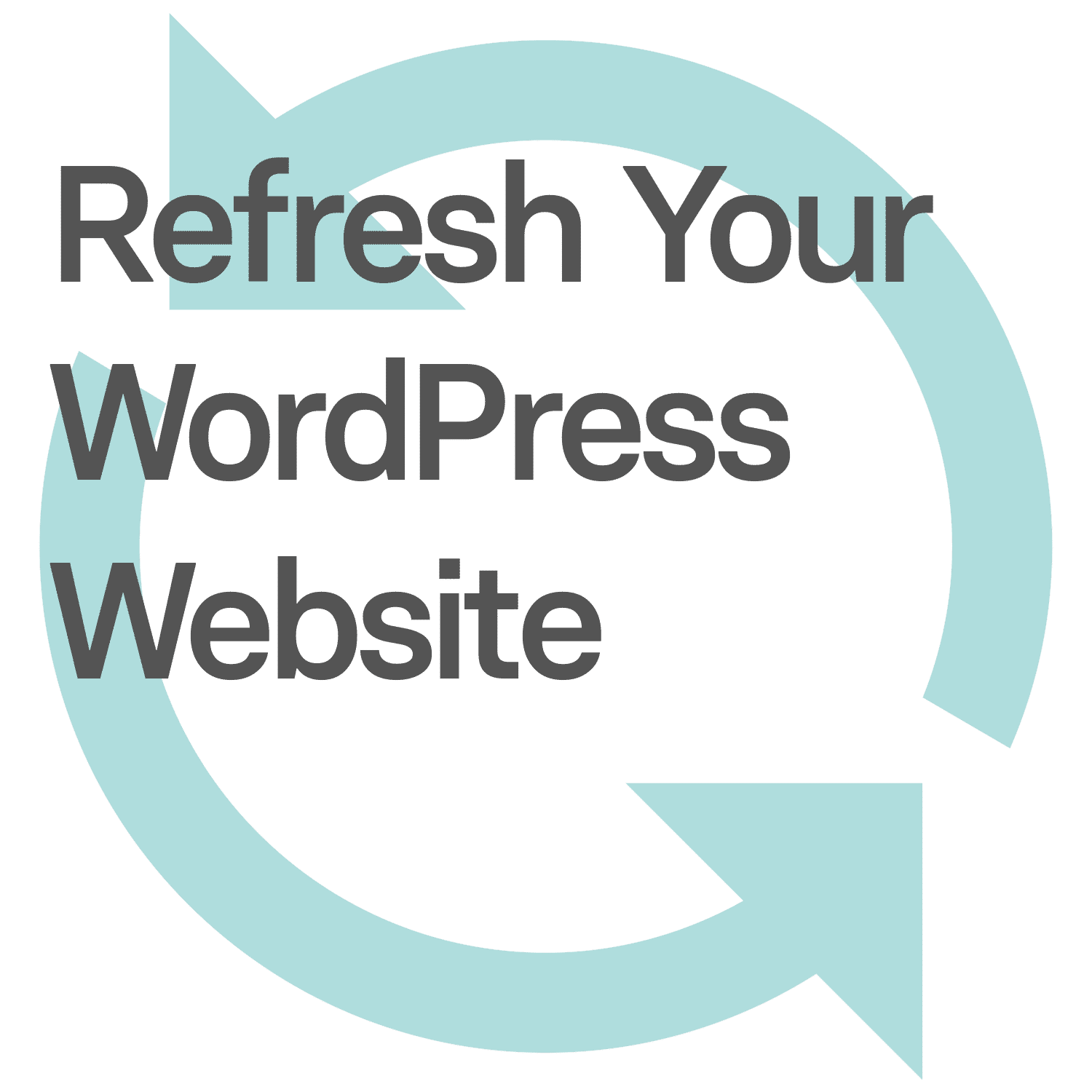 WordPress Website Refresh 1