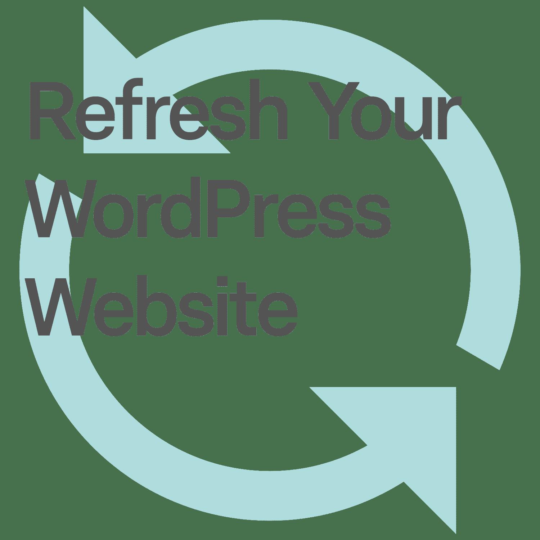 WordPress Website Refresh 1